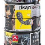 Subway, Prospekt- und Zeitschriftenständer