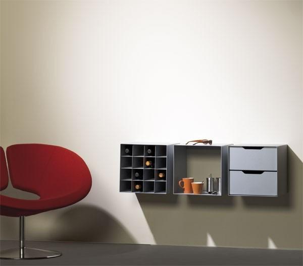 Boxx, Storage Wandmontage