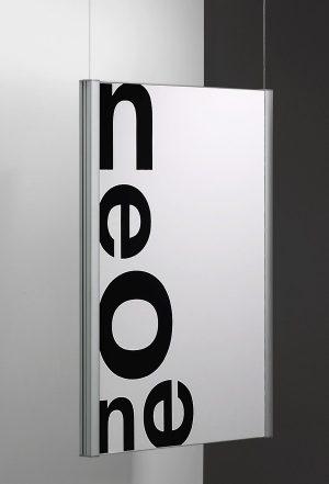 Neome Posterhalter hängend zweiseitig