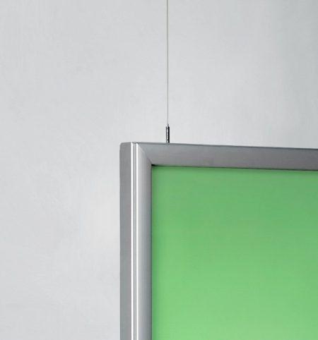 Neomemelight Posterhalter Deckenhänger beleuchtet