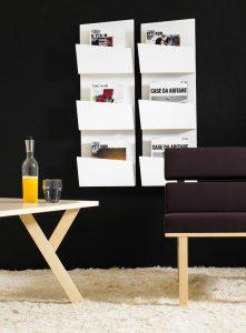 Designer Prospektständer und Wandprospekthalter bei uns-p 1 4 3 4 1434 Collar Design Wandprospekthalter 221x300-