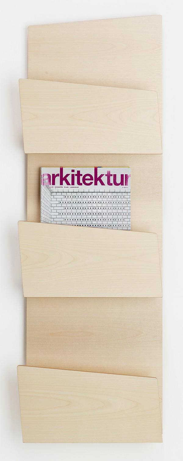 Qualitativ hochwertige Wandprospekthalter und Prospektständer-p 1 4 3 7 1437 Collar Design Wandprospekthalter-