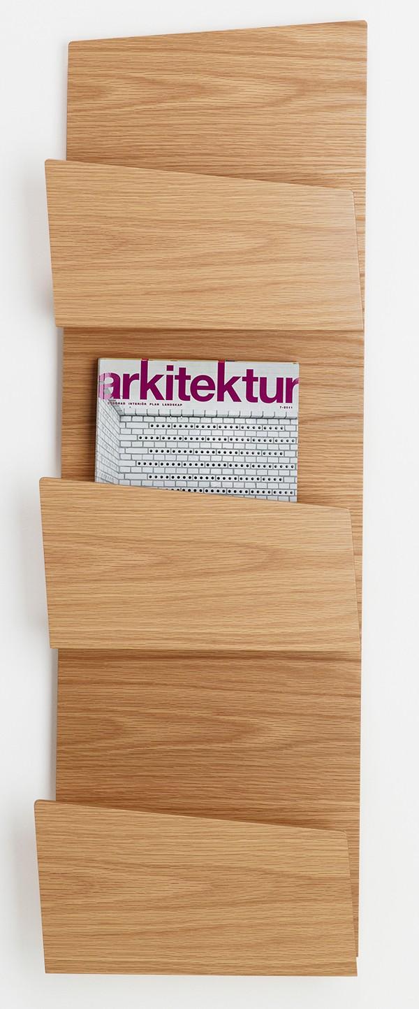 Qualitativ hochwertige Wandprospekthalter und Prospektständer-p 1 4 3 8 1438 Collar Design Wandprospekthalter-