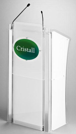 Cristall mieten, Rednerpult