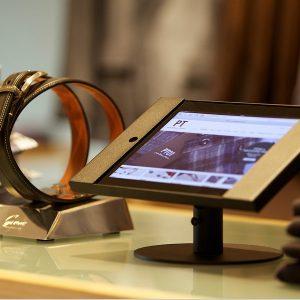 iDesk Kiosk, iPad