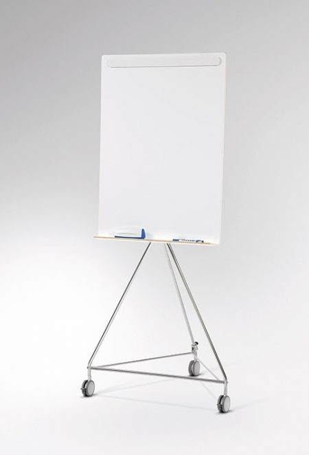 Meeting Wood Holz, Whiteboard/Flipchart mobil Standmodell