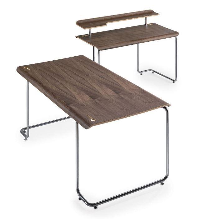 Sten, Designschreibtisch - Tables - Gebogenes Schichtholz
