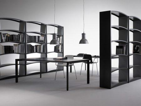 CURVE, Bücherregal, Schweiz, Design, Hochwertig
