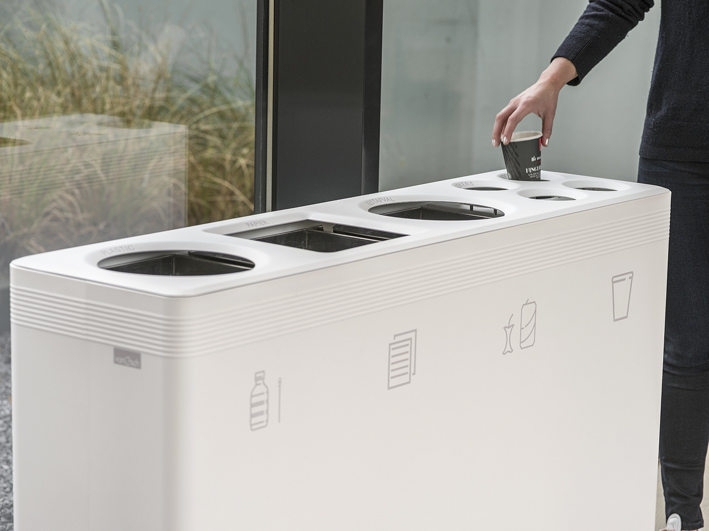 Ditch, Abfalltrennsystem, Recycling Systeme Berlin