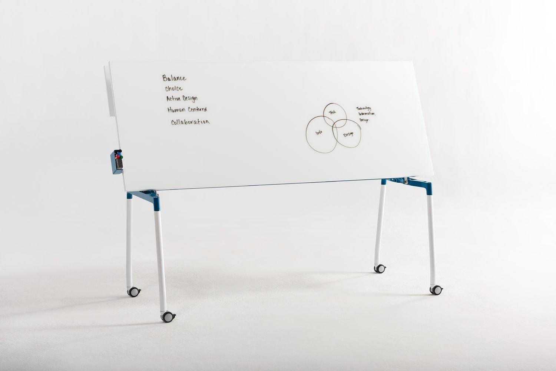 Balance, Whiteboard + Tisch Mobil