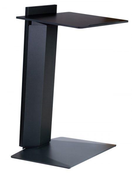 Loxa, elektrisch höhenverstellbares Rednerpult-Stehpult. bei dem das Design und die hochwertige Verarbeitung entscheidend