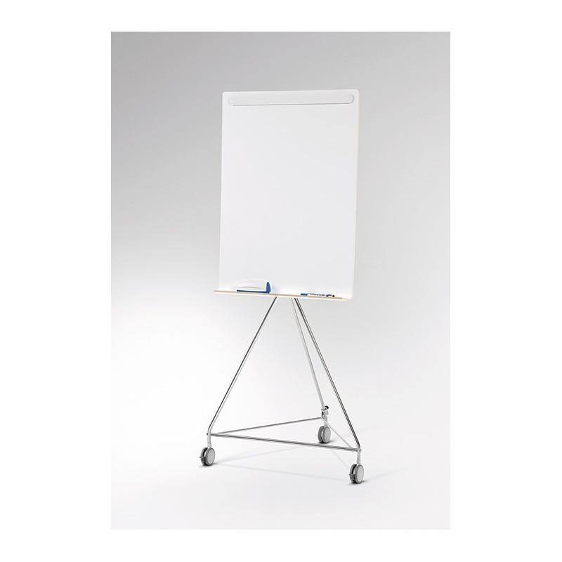 Whiteboard mit Rollen