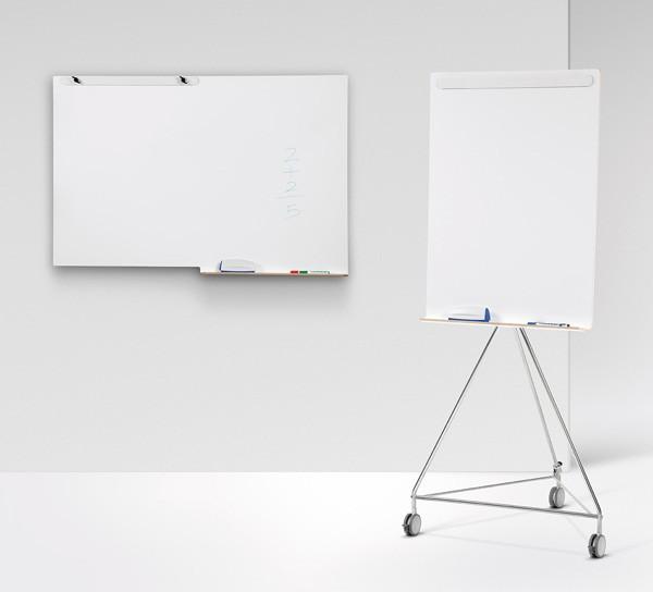 Das Whiteboard - können Sie bei uns kaufen, Holz, Whiteboard auf Rollen