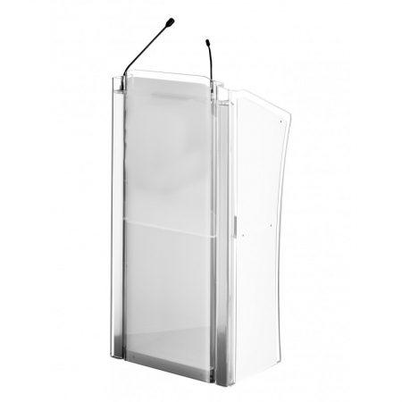 Rednerpultverleih - Cristall Rednerpult-Stehpult mit Beleuchtung