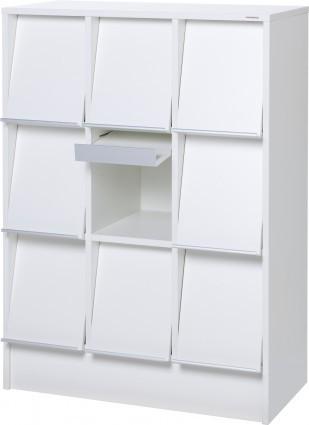 Quadro – niedriges Fußbodenmodell für Zeitschriften
