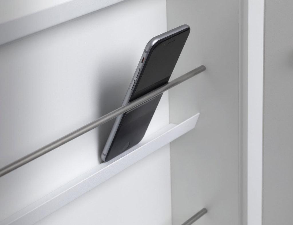 zenit Aufbewahrungsschrank für smartphones handys Iphone, Apple, Android, handy, abschließbar, Sicherheitsglas