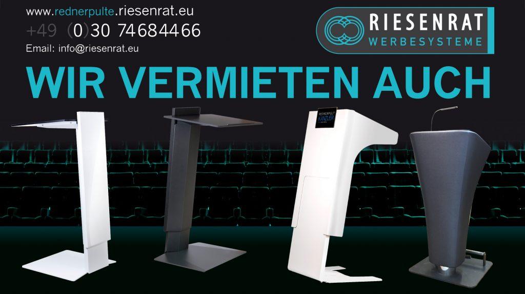 Rednerpulte in Berlin und deutschlandweit bei uns mieten/leihen-wirvermietenauch 1024x573-