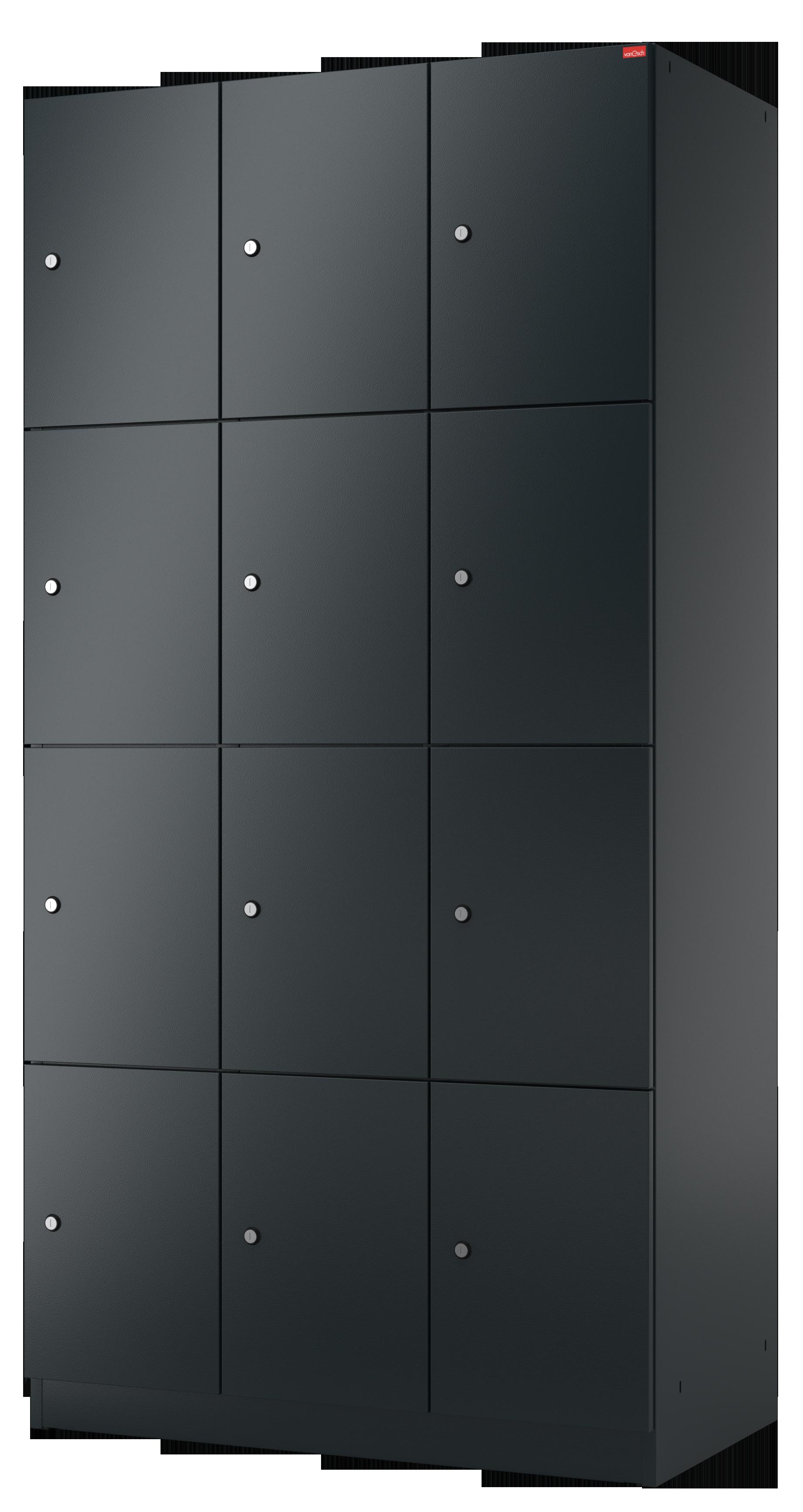 Metall-Schließfach mit Türen