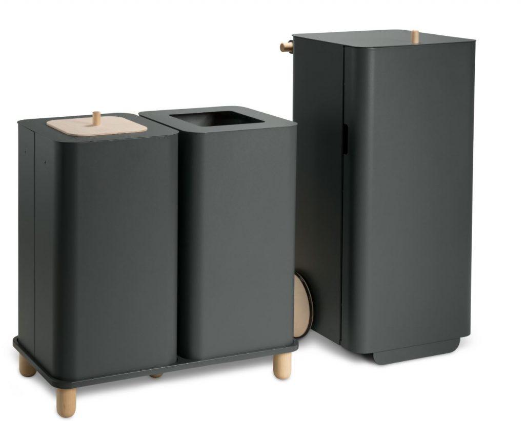 Mültrennsystem Abfalltrennsystem hochwerige Ausführung