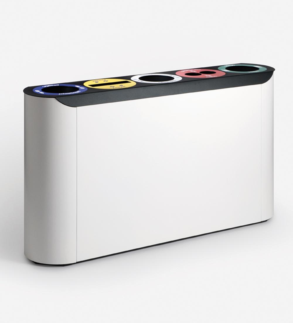 Abfalltrennung für ihr Büro, ein muss für die Umwelt-binro mülltrennsystem abfalleimer recyclingsystem 5-