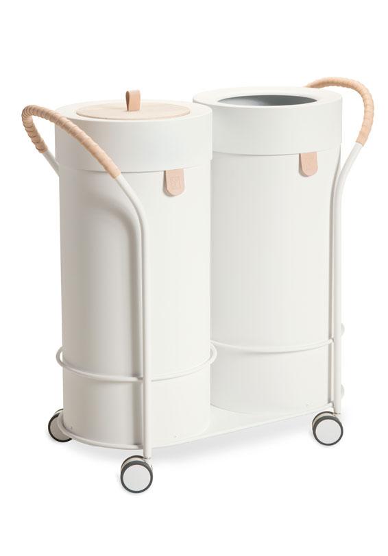Abfalltrennung für ihr Büro, ein muss für die Umwelt-mobiler abfallbehälter mülleimer design 3-