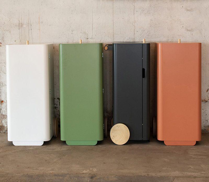 Die häufigsten Fehler beim Müll trennen-mobiler abfallbehälter mülleimer design 4-
