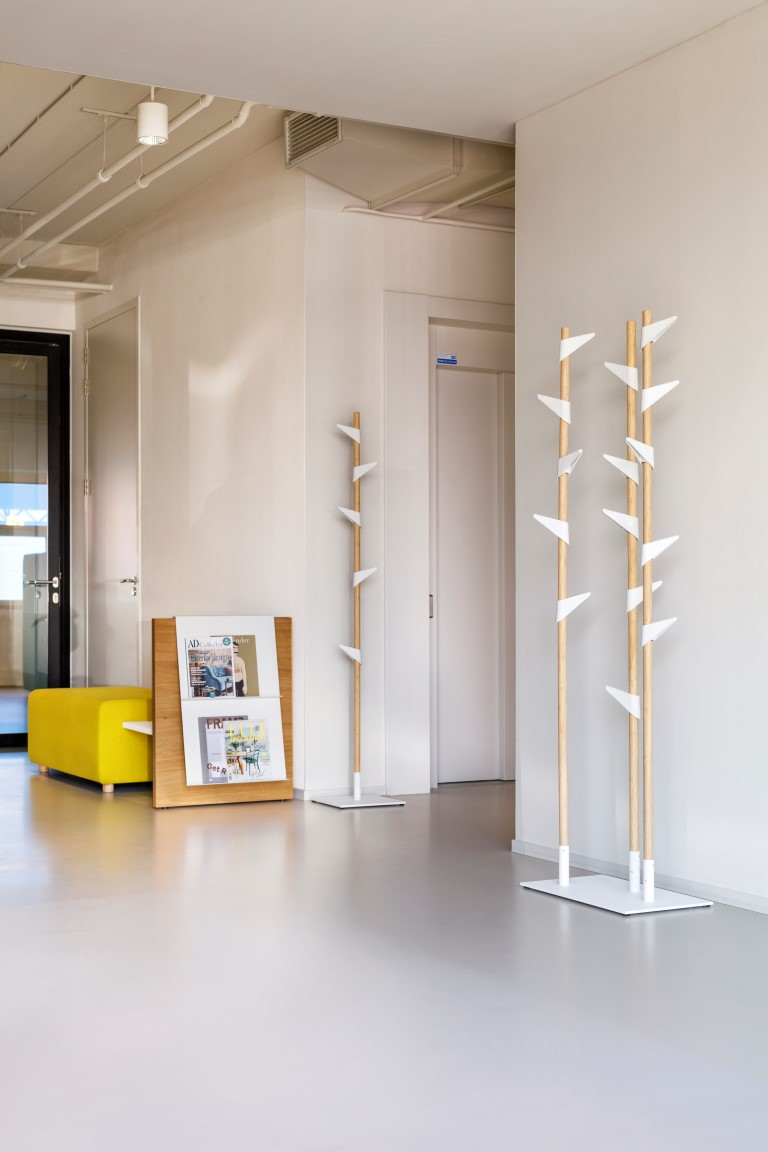 Garderobenständer Bamboo Original, verstellbare 5 Haken