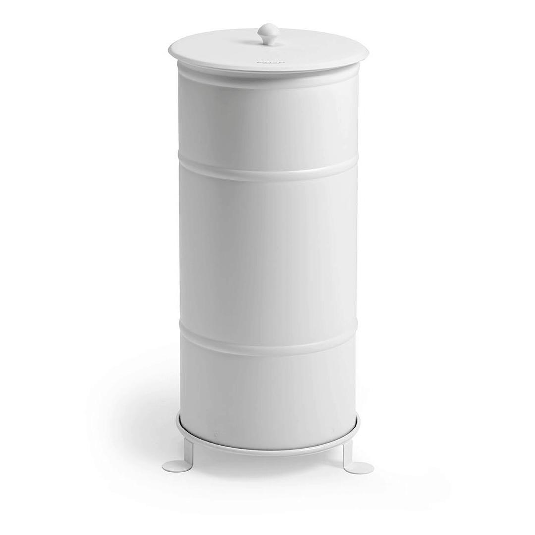 Single Gold Brooklyn Bin Abfallbehälter mit Füßen-Ein wahrer GOLDener Klassiker, neu erfunden für unsere Zeit.