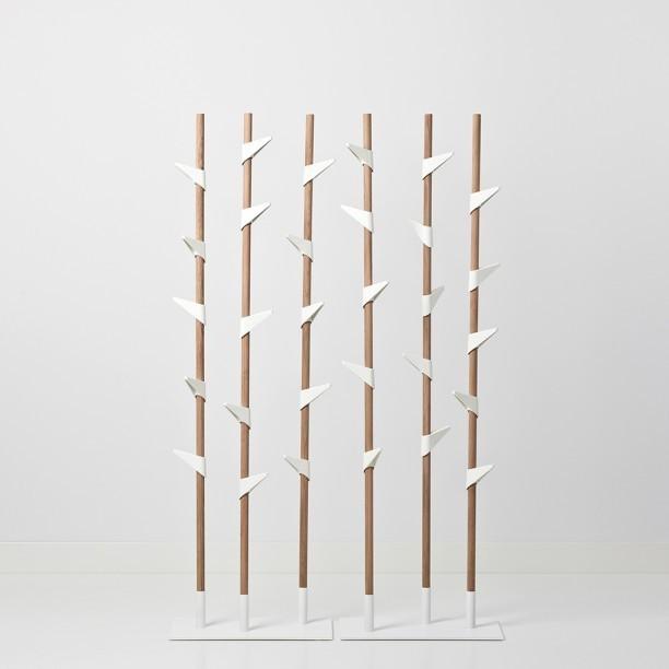 Garderobenständer Bamboo Original, verstellbare 15 Haken