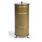 Single Gold Brooklyn Bin Abfallbehälter mit Füßen-primaoffice brooklynbins bb 150x150-Ein wahrer GOLDener Klassiker, neu erfunden für unsere Zeit.