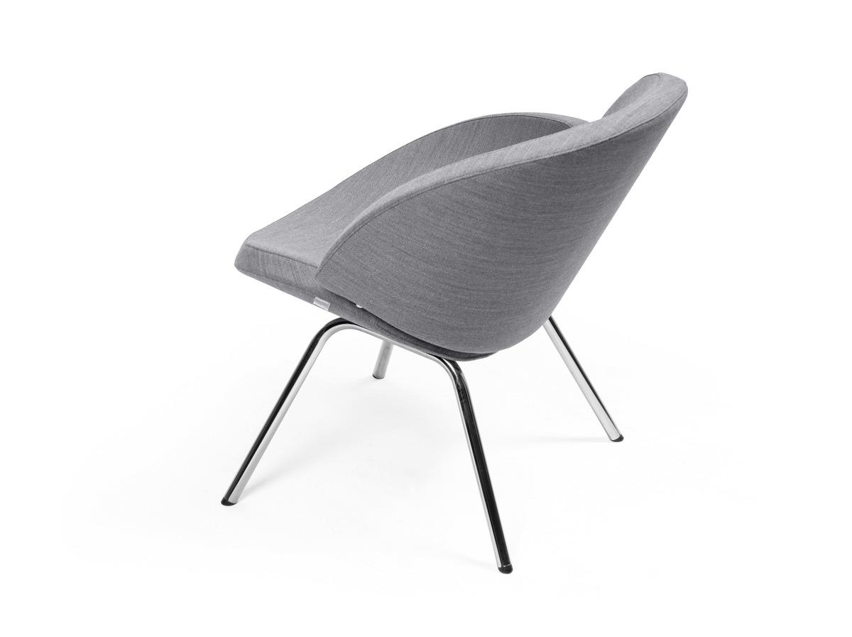 Twin Stuhl mit Metallbeinen